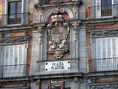Plaza Mayor í Madrid